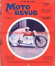 MOTO REVUE  429 PEUGEOT TERROT DUNLOP René GILLET GNOME RHONE BOL D'OR 1931
