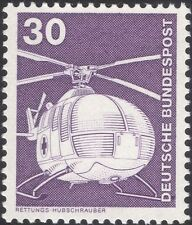 Germany 1975 Industry/Technology/Helicopter/Aviation/Transport 1v (n29148c)
