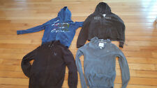 4 Hooded Sweatshirts Sweaters Large GAP American Eagle Aeropostale Large and XL