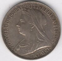 1897 Victoria Silver One Florin Two Shillings Doubled Face | Pennies2Pounds