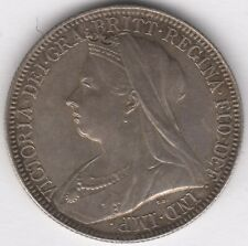 More details for 1897 victoria silver one florin two shillings doubled face | pennies2pounds