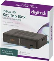 DIGITECH 1080p HD Set Top Box with USB Recording