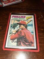 1977 TOPPS #310 Larry Bowa PHILADELPHIA PHILLIES VINTAGE BASEBALL CARD