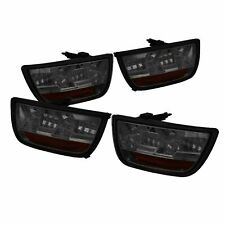 Spyder Auto 5032201 LED Smoke Tail Lights Set Fits 2010-2013 Chevy Camaro