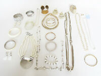 Vintage & New Custom Jewelry Mixed Lot 20 Pieces Or More Gold & Silver Tone