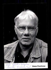 Dieter Prochnow FOTO ORIGINALE FIRMATO # BC 100393