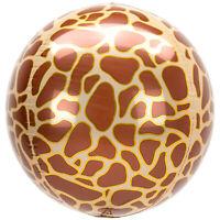 Good Quality & Highly Durable Animalz Giraffe Printed Orbz Balloons.