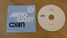 CD Promo Arno Cost  Cyan Radio Edit