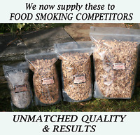 PLUM BBQ Smoker Wood Chips for FOOD SMOKING Smoking 1.75L FRESHLY CHIPPED