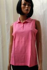 BODE Shirt ♛ Gr 40 42 ♛ POLOSHIRT Shirt Knallrosa ROSA Ärmellos  ❤️1970i