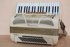 Accordion Hohner Lucia IIP 80 bass Akkordeon Fisarmonica + Case