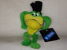 Frog Michigan J. cartoon bean bag plush toy Warner Bros Store new with tags