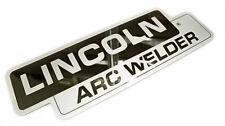 Lincoln Sa 200 Sa 250 Mirrored Stainless Steel Name Plate Bw682