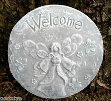 Angel stepping stone plastic welcome concrete mold mould