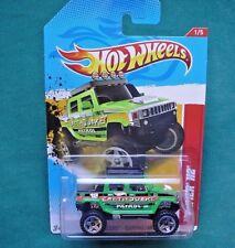 HUMMER H2.  Hotwheels EARTHQUAKE PATROL.  221/247. HW 2012.  NEW In SEALED Pack!