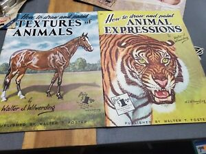 2 Walter T. Foster How To Draw And Paint Textures Of Animals  Walter Wilwerding