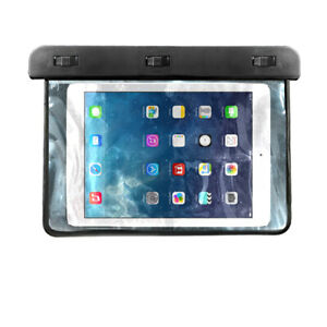 Waterproof Underwater Pouch Dry Bag Case Cover For Tablet iPad UP TO 8.5 INCHES