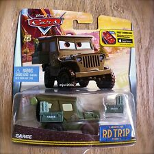 Disney PIXAR Cars SARGE Road Trip RD TR1P Carburetor County Route 66 Mother Road