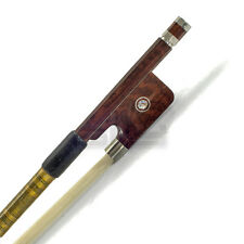 "New High Quality Viola Bow 14"" AA Grade SnakeWood Fully-Line Abalone Gold Wrap"