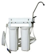 Premium Twin Undersink Water Filter System with all fittings (DIY)