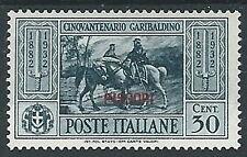 1932 EGEO PISCOPI GARIBALDI 30 CENT MH * - G038