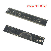 For Electronic Engineers PCB Rulers Reference Ruler Protractor Measuring Tool