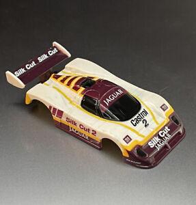 TOMY AFX #2 CASTROL SILK CUT JAGUAR HO SLOT CAR BODY