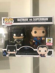 Funko Pop! Batman VS Superman 2015 SDCC Exclusive LE 500 PCS