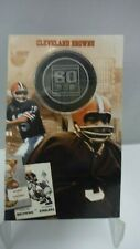 Bill Wills 1946-2006 Cleveland Browns 60th Anniversary Commemorative Coin
