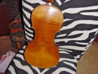ANTIQUE GERMAN  VIOLIN 4/4 FULL SIZE AND COFFIN CASE  C 19C FIDDLE GREAT TIGER  for sale