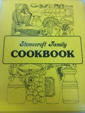 Stonecraft Family Cookbook  cook book recipes 3 Ring Binder vintage