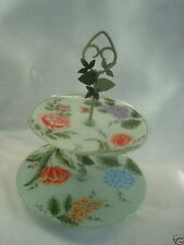 NEW Princess House Vintage Garden Tiered Server 1468