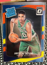 🔥 Jayson Tatum 2017-18 Panini Donruss Optic Rated RC Red/Yellow Rookie Celtics