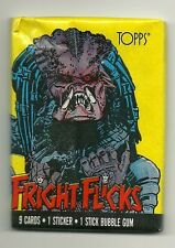 Fright Flicks Trading Cards - Predator Wrapper (Topps, 1988) Wax Pack