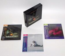 EMMANUEL BOOZ / JAPAN Mini LP SHM-CD x 3 titles + PROMO BOX Set!!