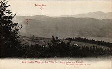 CPA MILITAIRE Les Hautes Vosges-La Téte du Linge prise du Taneck (317177)