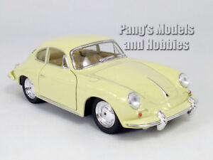Porsche 356B - 356 Carrera 2 - 1/32 Scale Diecast Model by Kinsmart - White
