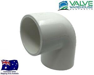 "90 Degree Elbow Socket - Pressure PVC - 15mm (1/2"") - 150mm (6"")"