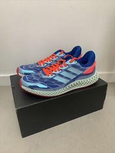 "adidas 4D Run 1.0 ""Glory Blue"" Running Shoes FW1231 Men's Size 8.5"
