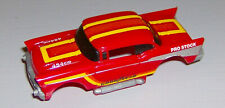 """""""NEW"""" TYCO '57 RED/YELLOW CHEVY BODY (WIDE CHASSIS)"""