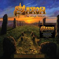 """Saxon : The Vinyl Hoard Vinyl 12"""" Album Box Set 8 discs (2016) ***NEW***"""