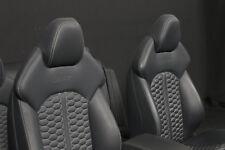 Audi a7 rs7 4g Recaro Sport asientos de piel cuero equipamiento Leather seats interior