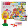 14PC Play Hairstylist Set dough Modelling Kids Tubs Craft Moulding children