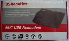 USRobotics 56K USB Faxmodem 5633B( Retail boxed version, factory sealed)