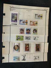 1963 1970 1972 1977-78 Dominica various multiple 1c 1/2c 1c 24c $1.20 stamps BB2