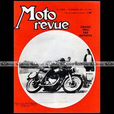 MOTO REVUE N°1609 J-P BELTOISE BSA 650 TRIUMPH VELOVAP MIKE HAILWOOD MONZA 1962