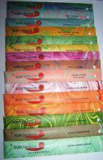 Auroshikha ®,Indische Räucherstäbchen,Räucherwerk,Düfte 60 Sorten