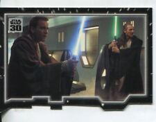 Star Wars 30th Anniversary Triptych Chase Card #1 Master And Apprentice