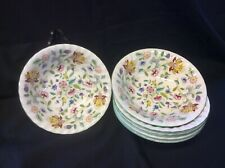 Set Of 6 Cereal Bowls In Haddon Hall Design Of Excellent Quality
