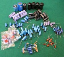 Assortment Selection Mix Job Lot 100 Various Electrolytic Capacitors